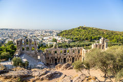 Athens. The Odeon of Herodes Atticus 5 Stock Photography