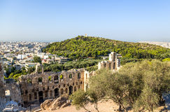 Athens. The Odeon of Herodes Atticus 6 Royalty Free Stock Photo
