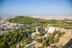 Athens. The Odeon of Herodes Atticus Royalty Free Stock Photos