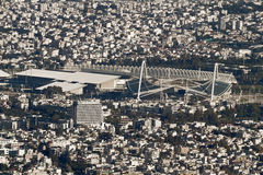 Athens Olympic Stadium. An above view of the Olympic Stadium of Athens, where the 2004 Olympics were held Stock Photography