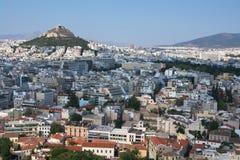 athens panorama Zdjęcie Royalty Free