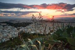 athens panorama Greece Zdjęcia Royalty Free