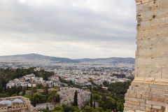 Athens Panorama Royalty Free Stock Image