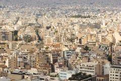 Athens Panorama Stock Photos