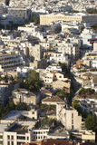 Athens parliament and residential buildings. Greece Royalty Free Stock Photography