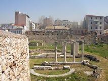 Athens Roman agora Handrian`s agora Stock Image