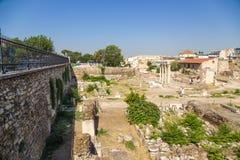 Athens. Roman Agora Stock Images