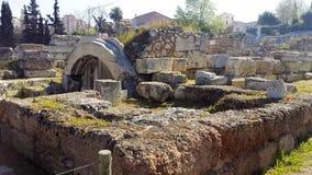 Athens ruins Royalty Free Stock Photo