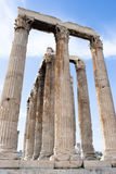 Athens' Ruins Stock Images