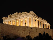 athens ruiny obrazy stock