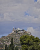 Athens, saint George church on Lycabetus hill Stock Image