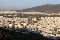 Athens skyline Stock Photography