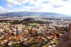 Athens skyline Royalty Free Stock Image