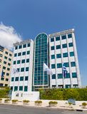 Athens Stock Exchange building, Athens, Greece. stock photography