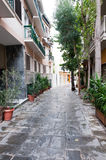 Athens street Royalty Free Stock Photography