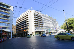 Athens street , Greece Royalty Free Stock Photography