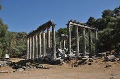 athens tempelzeus Fotografering för Bildbyråer
