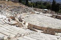 Athens Theater of Dionysus Stock Images