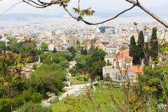 Athens from top Stock Photos