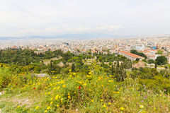 Athens From Top Stock Images