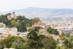 Athens From Top Royalty Free Stock Photos