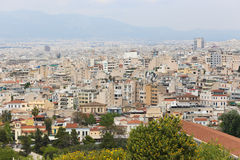 Athens From Top Royalty Free Stock Image