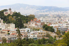 Athens From Top Royalty Free Stock Photography