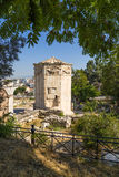 Athens. The Tower of the Winds Royalty Free Stock Photography