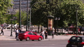 Athens traffic stock footage