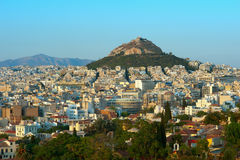 Athens view Stock Images