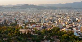 Athens view Stock Photos
