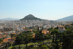 Athens View Stock Photography