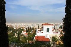 Athens View Royalty Free Stock Photos