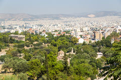 Athens. View from Areopagus Stock Images