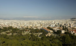 Athens View Royalty Free Stock Images