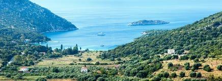 Atheras bay (Kefalonia, Greece). Stock Image