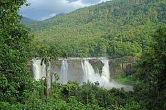 Athirapally vattenfall Kerla Indien Royaltyfria Bilder