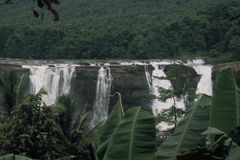 Athirappilly Water Falls Royalty Free Stock Photography