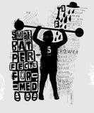 athlète Images libres de droits