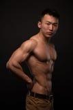 Athlète coréen photo libre de droits