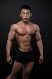 Athlète coréen photographie stock libre de droits