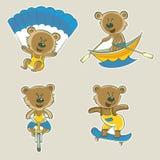 Athlète d'ours Images libres de droits
