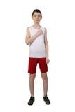 Athlète de garçon Photo libre de droits