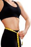 Athlète féminin image stock