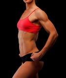 Athlète féminin Photographie stock libre de droits