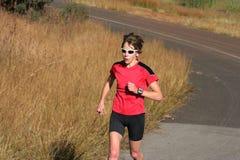 Athlète féminin Photos stock
