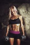 Athlète féminin sexy Images stock