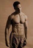 Athlète mâle Photos libres de droits
