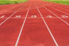 Athlète Track ou nombres courants de voie Image libre de droits