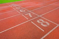 Athlète Track ou voie courante images stock